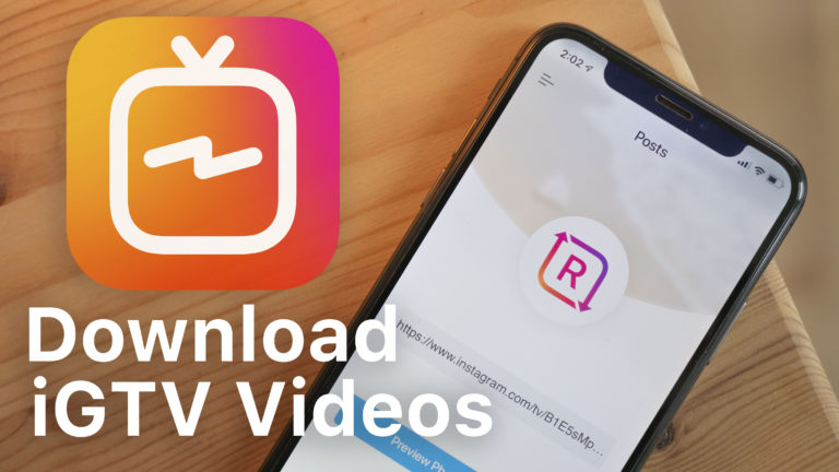 How to Download IGTV Instagram​ videos on iPhone, iPad (iOS No Jailbreak, No Revoke)